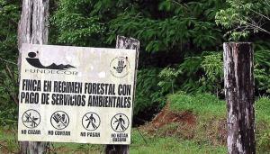 Paiement de Services Environnementaux, Costa Rica. Source : www.cirad.fr