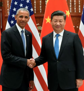 Ratification de l'Accord de Paris sur le Climat par les USA et la Chine, sept. 2016