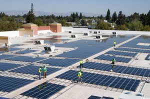 Panneaux solaire, transition énergétique, Californie