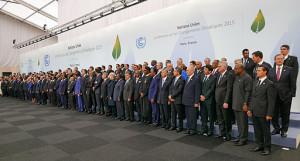 Rassemblement des représentants étatiques, COP21, novembre 2015